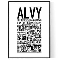 Alvy Poster
