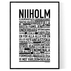 Niiholm Poster