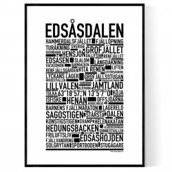 Edsåsdalen Poster