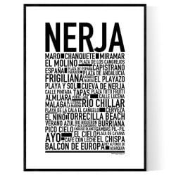Nerja Poster