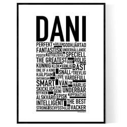 Dani Poster