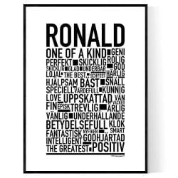 Ronald Poster