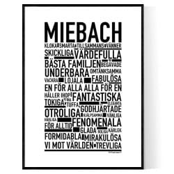 Miebach Poster