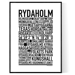 Rydaholm Poster