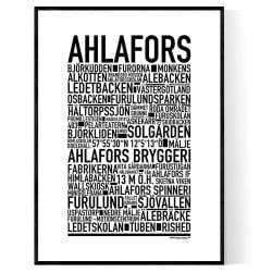 Ahlafors Poster
