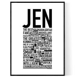 Jen Poster