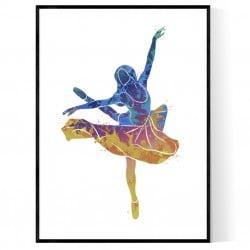 Dancing Girl Poster