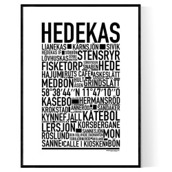 Hedekas Poster