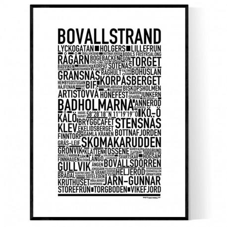 Bovallstrand Poster