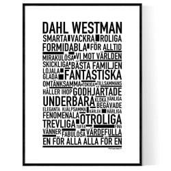 Dahl Westman Poster