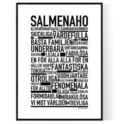 Salmenaho Poster