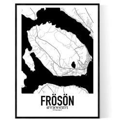 Frösön Karta