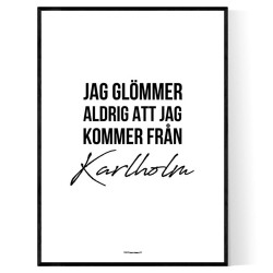 Från Karlholm