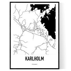 Karlholm Karta
