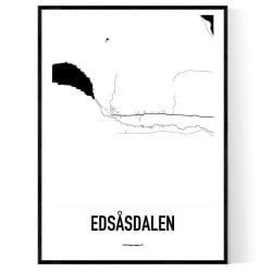 Edsåsdalen Karta