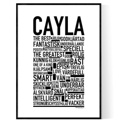 Cayla Poster