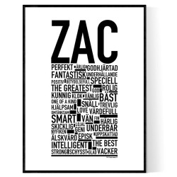Zac Poster