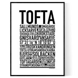 Tofta Poster
