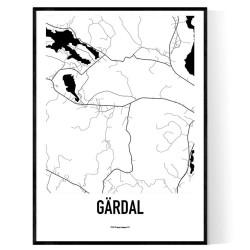 Gärdal Karta