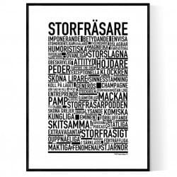 Storfräsare Poster
