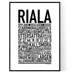 Riala Poster