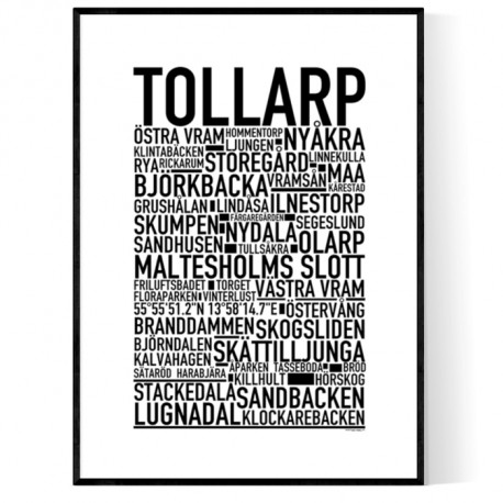 Tollarp Poster