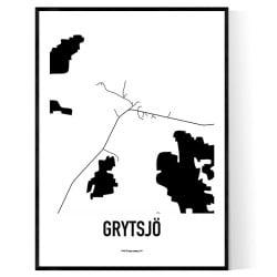 Grytsjö Karta