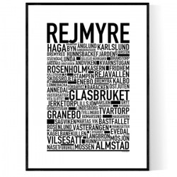 Rejmyre Poster
