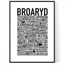 Broaryd Poster