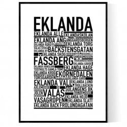 Eklanda Poster