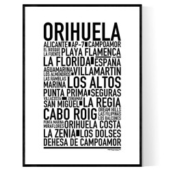 Orihuela Poster