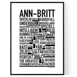 Ann-Britt Poster