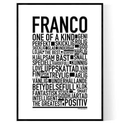 Franco Poster