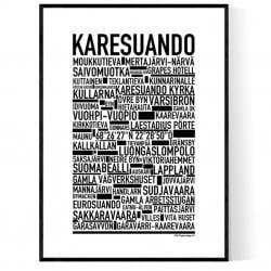 Karesuando Poster