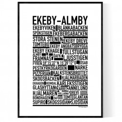 Ekeby-Almby Poster