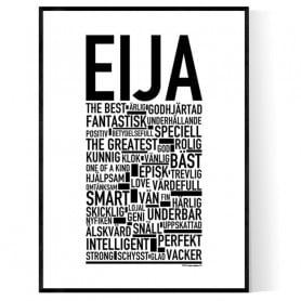 Eija Poster