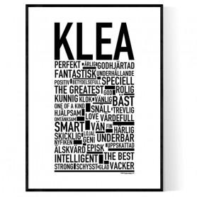 Klea Poster