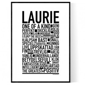 Laurie Poster