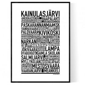 Kainulasjärvi Poster