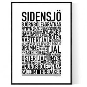 Sidensjö Poster