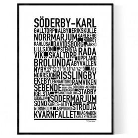 Söderby-Karl Poster