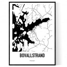 Bovallstrand Karta