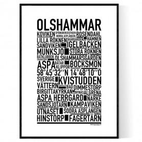 Olshammar Poster