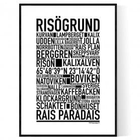 Risögrund Poster