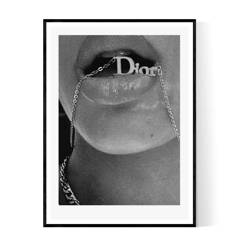 Dior Lips Poster