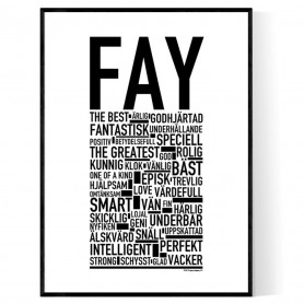 Fay Poster
