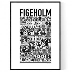 Figeholm Poster