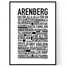 Arenberg Poster