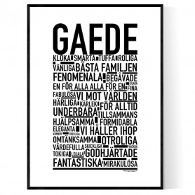 Gaede Poster