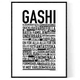 Gashi Poster